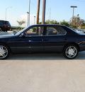 lexus ls 400 1999 blue sedan gasoline v8 rear wheel drive automatic 75228