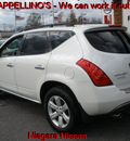 nissan murano 2007 white suv sl gasoline 6 cylinders all whee drive automatic 14094