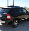 jeep compass 2007 black suv limited gasoline 4 cylinders 4 wheel drive automatic 76087