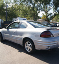 pontiac grand am 1999 silver coupe gasoline v6 front wheel drive automatic 80911