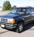 ford explorer 1992 blue xlt gasoline v6 4 wheel drive 4 speed with overdrive 80229
