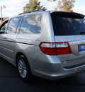 honda odyssey 2007 silver pearl van touring gasoline 6 cylinders front wheel drive automatic 07701