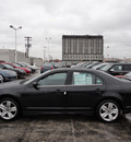 ford fusion 2012 black sedan sport gasoline 6 cylinders front wheel drive automatic with overdrive 60546