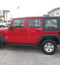 jeep wrangler unlimited 2010 red suv sport rhd gasoline 6 cylinders 4 wheel drive automatic 62863