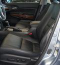 honda accord 2011 lt  blue sedan ex l gasoline 6 cylinders front wheel drive automatic 62034
