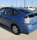 toyota prius 2005 lt  blue hatchback hybrid 4 cylinders front wheel drive automatic 75228