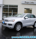 volkswagen touareg 2012 cool silver suv tdi sport diesel 6 cylinders all whee drive automatic 98226