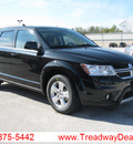 dodge journey 2012 black suv sxt flex fuel v6 all whee drive automatic 45840