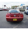 ford mustang 2008 torch red coupe gt premium gasoline 8 cylinders rear wheel drive automatic with overdrive 07724