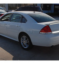 chevrolet impala 2011 white sedan ltz flex fuel 6 cylinders front wheel drive automatic 77090