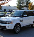 range rover range rover sport 2012 white suv supercharged gasoline 8 cylinders 4 wheel drive shiftable automatic 27511