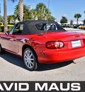 mazda miata 2002 red gasoline 4 cylinders rear wheel drive 5 speed manual 32771