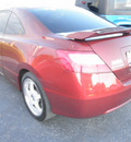 honda civic 2007 red coupe si gasoline 4 cylinders front wheel drive 6 speed manual 34474