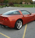 chevrolet corvette coupe 2005 orange coupe gasoline v8 rear wheel drive manual 17972