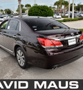 toyota avalon 2011 dark red sedan gasoline 6 cylinders front wheel drive automatic 32771
