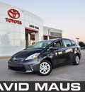 toyota prius 2012 gray wagon five hybrid 4 cylinders front wheel drive automatic 32771