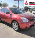 nissan rogue 2008 red wagon sl gasoline 4 cylinders front wheel drive automatic 78238