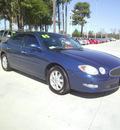 buick lacrosse 2005 blue sedan cxl gasoline 6 cylinders front wheel drive automatic 75503