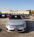 ford fusion 2012 silver sedan se flex fuel 6 cylinders front wheel drive automatic with overdrive 60546