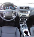ford fusion 2012 black sedan sel flex fuel 6 cylinders front wheel drive automatic with overdrive 60546