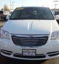chrysler town country 2011 white van flex fuel 6 cylinders front wheel drive automatic 60443