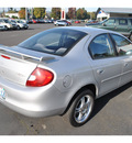 dodge neon 2001 silver sedan highline es gasoline 4 cylinders front wheel drive automatic 98632