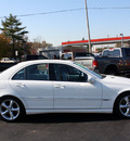 mercedes benz c class 2005 white sedan c230 kompressor gasoline 4 cylinders rear wheel drive automatic 07730