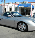 porsche boxster 2001 silver s gasoline 6 cylinders rear wheel drive automatic 92882