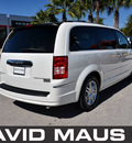 chrysler town country 2009 white van limited gasoline 6 cylinders front wheel drive automatic 32771