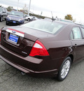 ford fusion 2012 cinnamon metallic sedan sel flex fuel 6 cylinders front wheel drive shiftable automatic 98032