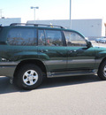 toyota land cruiser 2000 green suv 4wd gasoline v8 4 wheel drive automatic with overdrive 56001