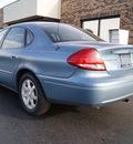 ford taurus 2007 light blue sedan sel gasoline 6 cylinders front wheel drive automatic 60098