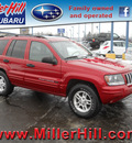 jeep grand cherokee 2004 red suv special edition gasoline 8 cylinders 4 wheel drive automatic with overdrive 55811