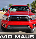 toyota tacoma 2012 red gasoline 6 cylinders 2 wheel drive automatic 32771
