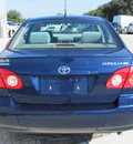 toyota corolla 2007 blue sedan ce gasoline 4 cylinders front wheel drive automatic 33884