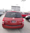 nissan quest 2004 red van se gasoline 6 cylinders front wheel drive automatic with overdrive 60546