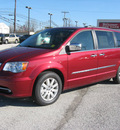 chrysler town and country 2012 red van touring l flex fuel 6 cylinders front wheel drive automatic 45840