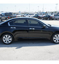 honda accord 2010 black sedan ex l v6 w navi gasoline 6 cylinders front wheel drive automatic 77388