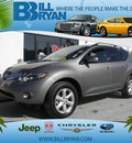 nissan murano 2009 grey suv gasoline 6 cylinders front wheel drive automatic 34731