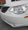 chrysler sebring 2010 white sedan limited gasoline 4 cylinders front wheel drive automatic 34731
