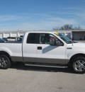 ford f 150 2005 white xlt gasoline 8 cylinders rear wheel drive automatic with overdrive 62863