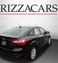 ford focus 2012 black sedan se gasoline 4 cylinders front wheel drive automatic with overdrive 60546