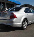 ford fusion 2011 silver sedan se gasoline 4 cylinders front wheel drive 6 speed automatic 90004