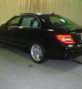 mercedes benz c class 2012 black sedan c300 4matic sport gasoline 6 cylinders all whee drive automatic 44883