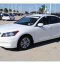honda accord 2011 white sedan se gasoline 4 cylinders front wheel drive automatic 77065