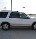 ford expedition 2010 white suv eddie bauer flex fuel 8 cylinders 4 wheel drive automatic 76087
