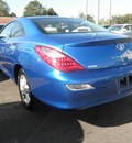 toyota camry solara 2007 blue coupe sle gasoline 4 cylinders front wheel drive automatic 34788