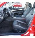 infiniti g35 2008 red sedan sport gasoline 6 cylinders rear wheel drive automatic 77037