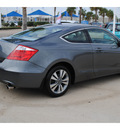 honda accord 2009 dk  gray coupe ex l gasoline 4 cylinders front wheel drive automatic 77065