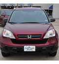honda cr v 2009 red suv lx gasoline 4 cylinders front wheel drive automatic with overdrive 77065